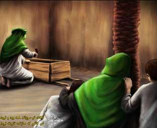 تابوت حضرت زهرا